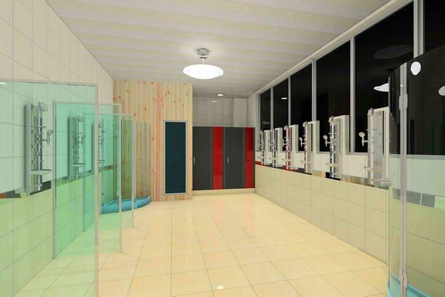 淋浴房-会所展示-武义超时空健身会所产品分类